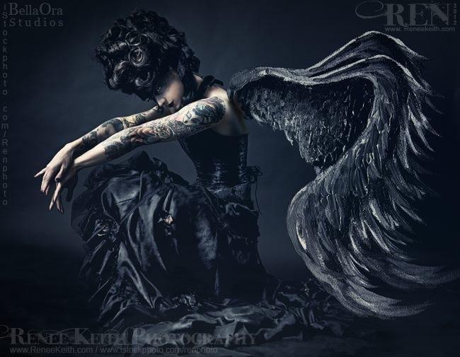 """Dark Angel"" | Pretty Macabre"